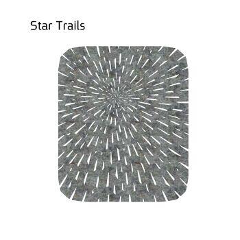 שטיח לבד STAR בצבע אפור