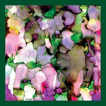 הדפס טקסטיל אמנותי צבעוני