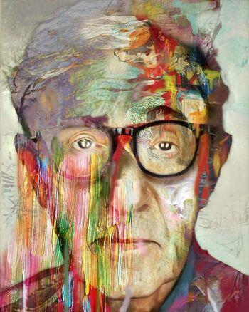 Dripping colors – Woody Ellen