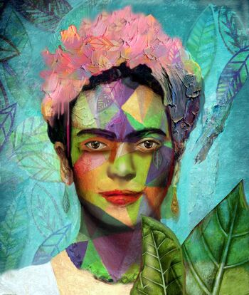 Falling leaves – Frida Kahlo