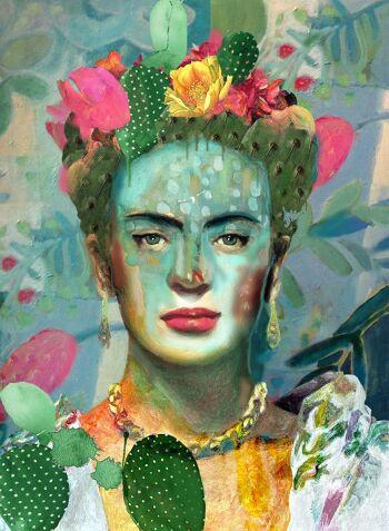 Sabra's blossom – Frida Kahlo