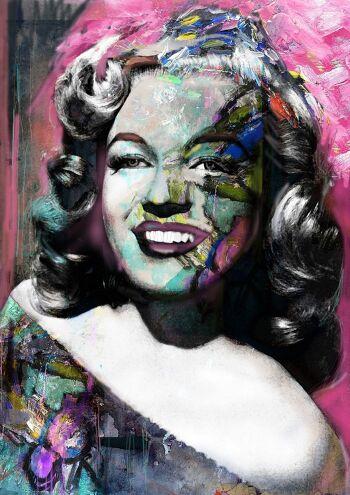 Pink sky – Marilyn Monroe