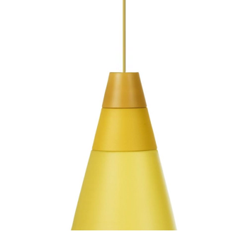 תאורה תלויה בצבע צהוב ABC