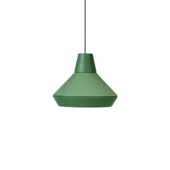 תאורה תלויה בצבע ירוק AEF