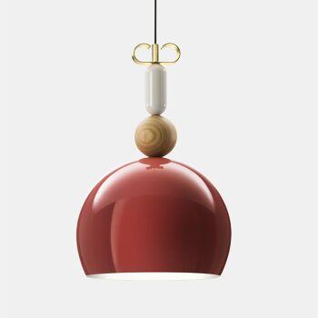 גוף תאורה תלוי – בצבע אדום N1_10