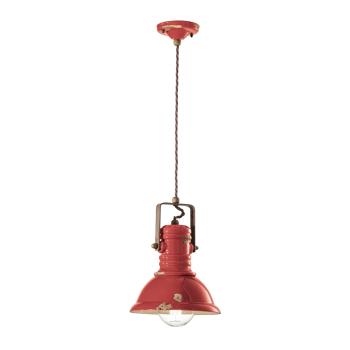 גוף תאורה בסגנון אורבני – בצבע אדום C-1691