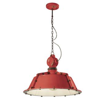 גוף תאורה בסגנון אורבני – בצבע אדום C-1720
