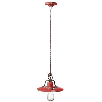 גוף תאורה בסגנון אורבני – בצבע אדום C-1441