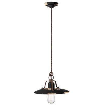 גוף תאורה בסגנון אורבני – בצבע שחור C-1442
