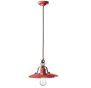 גוף תאורה בסגנון אורבני – בצבע אדום C-1442