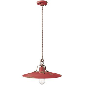 גוף תאורה בסגנון אורבני – בצבע אדום C-1443