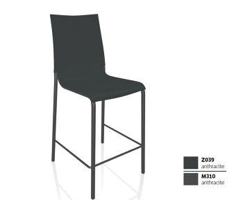 כסא בר בצבע אפור כהה EVA