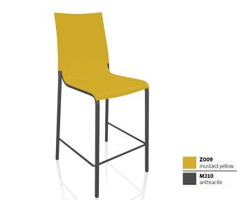 כסא בר בצבע צהוב EVA