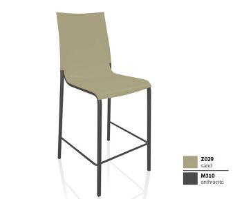 כסא בר בצבע חול EVA