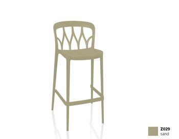 כסא בר בצבע חול Galaxy