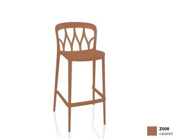 כסא בר בצבע חום Galaxy