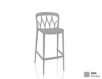 כסא בר בצבע אפור Galaxy