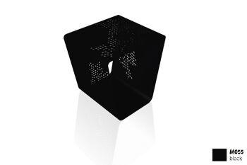 שולחן צד בצבע שחור PATTERN